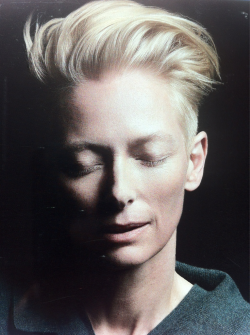 66lanvin:  TILDA ( I am LOVE ) SWINTON………..No.11