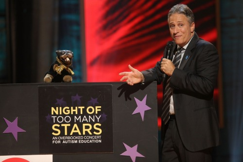 Night of Too Many Stars: America Comes Together for Autism Programs is returning to Comedy Central this fall, with Jon Stewart once again serving as host of the star-studded biennial comedy benefit. The event will air Sunday, October 21 at 8/7c, and we'll have ticket info and attendee details as soon as they become available. In the meantime, it's never too early to make your contribution to the New York Center for Autism.