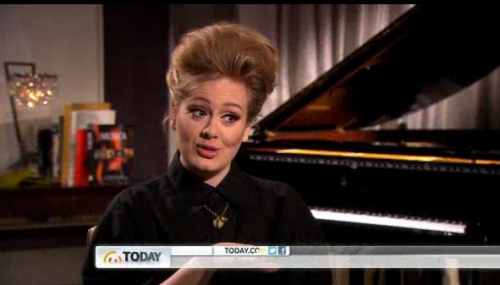 Adele, what's happening up there, dear?