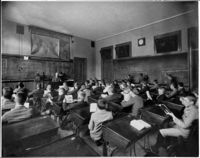 boston:  FROM THE ARCHIVES | PHOTOS Boston Latin School  - Founded in 1635, Boston Latin is the oldest existing school in the US, and many prominent Bostonians are graduates, including Ben Franklin, Samuel Adams, John Hancock, and Ralph Waldo Emerson.