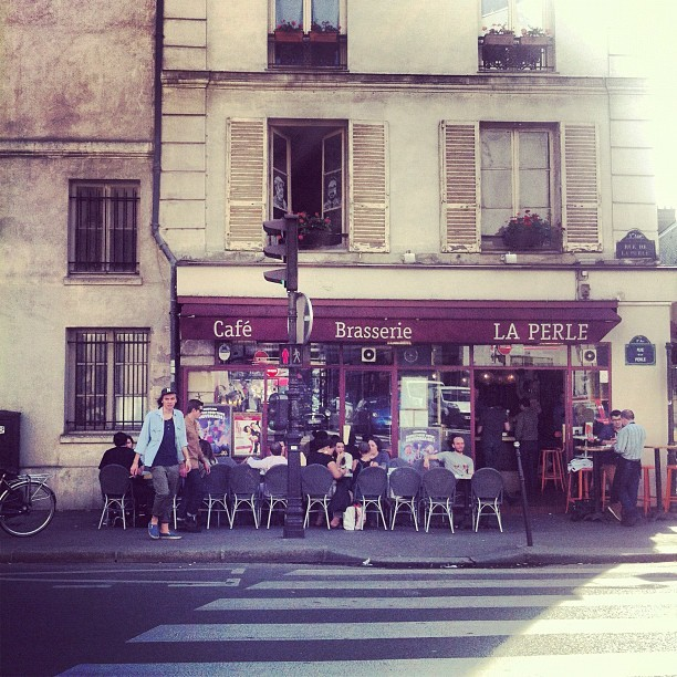 La Perle (Taken with Instagram at Le Marais)