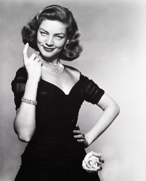 Lauren Bacall in promotion shot for How To Marry A Millionaire.