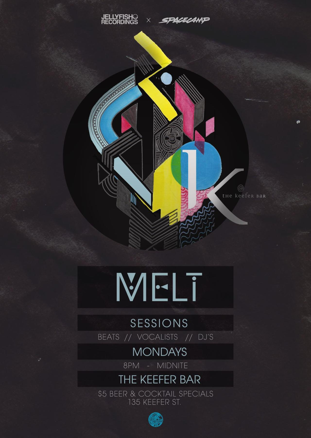 elekwentfolk:  Melt Beat Sessions @ Keefer Bar - May 14th, 2012 …tonight y'all!