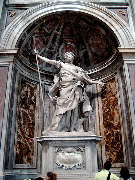 """This sculpture [Bernini's St. Longinus] is significant because it represents the Counter-Reformation tradition of Pointing At Something Else.""Actually, that's pretty much dead-on."