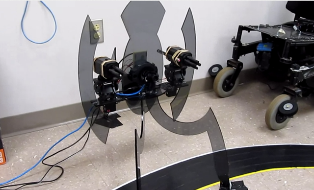 thisistheverge:  A real-life tracking, shooting, talking 'Portal' turret Searching…    here is the video: http://www.youtube.com/watch?&v=MTSWjkXBHOs