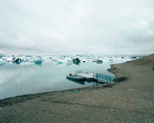 Boats on the Jökulsárlon, 1999 Olaf Otto Becker