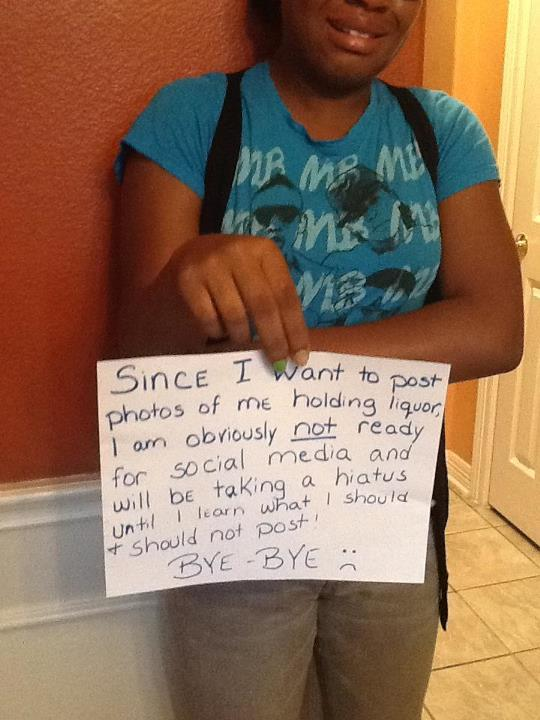 (via More parents need to do this!!! - Imgur) Courtesy of Reddit, this is an example of how modern parenting on social media is done. Ouch!