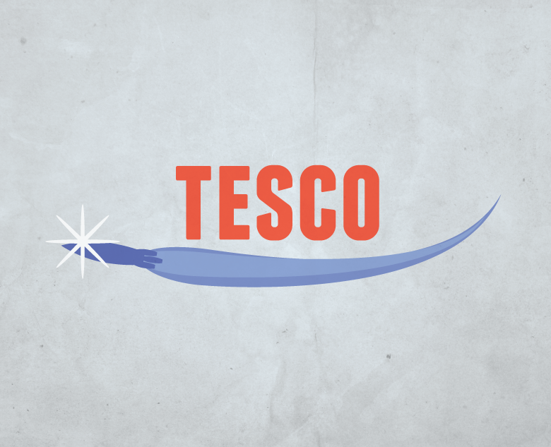 Following the advent of cheap space travel, supermarket giant Tesco set up an inter-planetary wing of their business and quickly developed a monopoly on grocery deliveries between the colonies of the United Earth Federation.