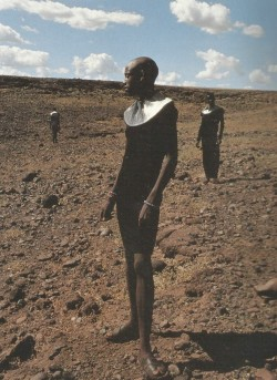 petrole:  travel through africa, pleats please issey miyake fall winter 1997/98