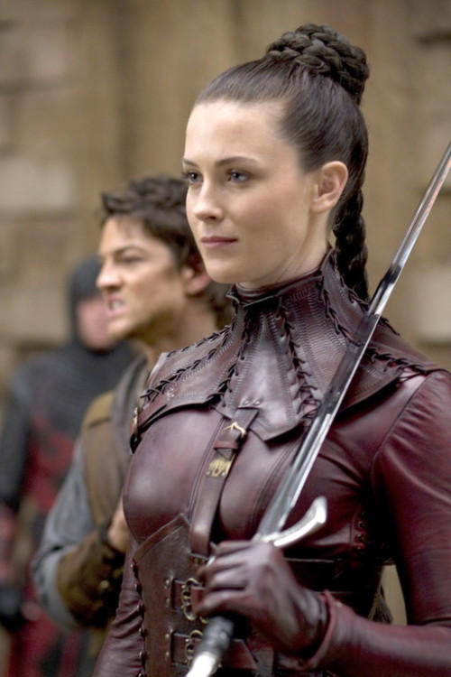 sword-stone:  the Mother Confessor disguised as a Mord Sith   I would probably go the red outfit though.