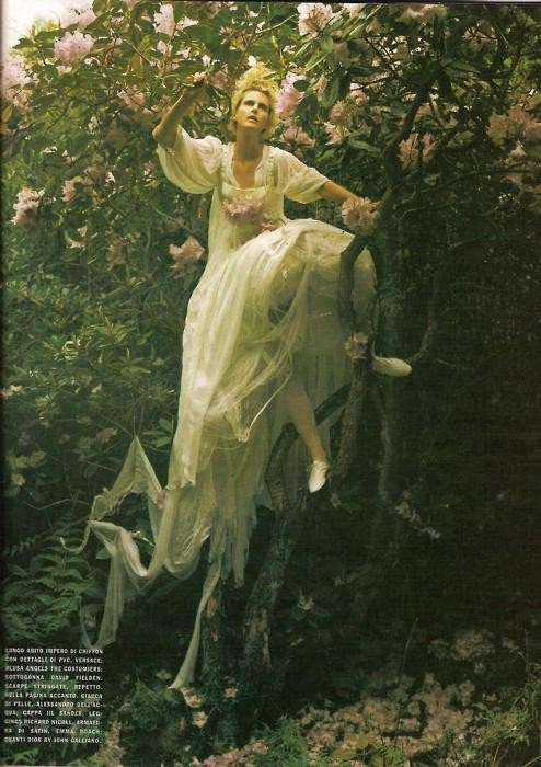 Dream and Magic. Vogue. August. 2007 Model: Stella Tennant Photographer: Tim Walker