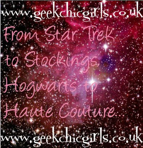Hi to all my new followers! Please check out the website www.geekchicgirls.co.uk for cult classic reviews, the Geek Chic agony aunt, Get The Look and much much more. Thank you :) xx
