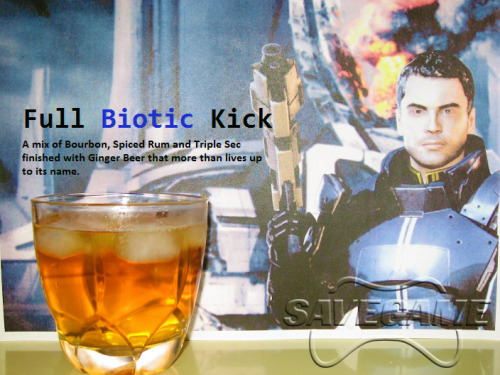 Save Game's Mass Effect Squadmate cocktails: The best drinks this side of the Citadel  I will try every one of these drinks at some point in my life.