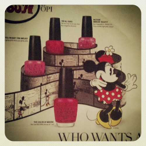 Yes please! I want a Minnie-cure (: (Taken with instagram)