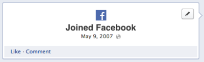 "It's been 6 years since I joined Facebook… Now that timeline is a thing, I was able to go back and see just how many hours/days/years I've spent nurturing my presence online. Some would look at this and think ""waste of time"", I see it as time well spent. I've had an internet outlet since Grade 9 (in the days of Geocities), and now using my connections through college and ministry, I've been able to take this hobby/interest and turn it into something of lasting value. To be able to reach out to people, learn alongside others, share information…and decline literally thousands of Farmville requests (yes I still get those). While I may have cursed Fbook's birth from my little MySpace cave, I now fully embrace it as just another part of my life. The key is knowing when to type, and when to talk."
