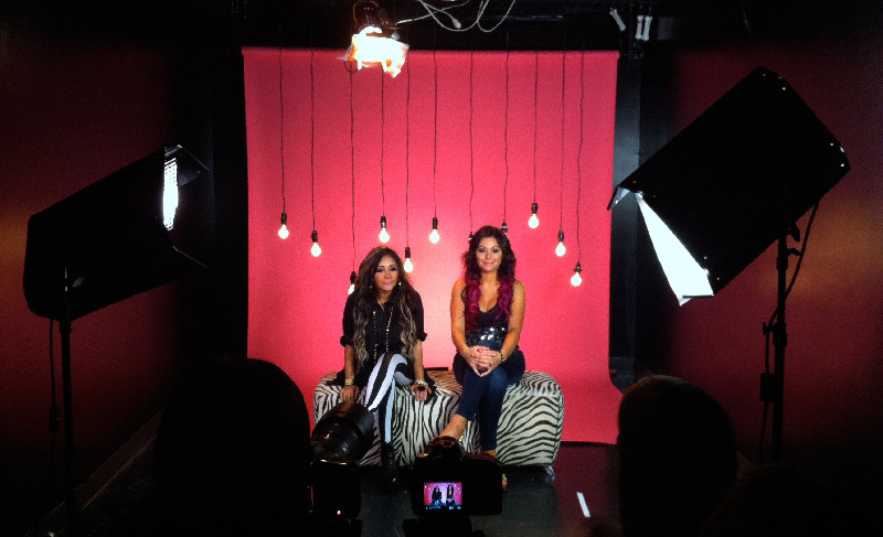 mtvjerseyshore:  These two lovely ladies stopped by MTV today. Snooki & JWOWW premieres June 21st at 10/9c on MTV!