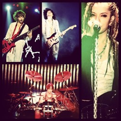 L'Arc~en~Ciel 2012 World Tour: Jakarta. #larcenciel #larc #laruku #rock #band #japanese #japan #music #jpop #cielers #LarukuJKT #worldtour #20years #2012 #jakarta #indonesia #concert #hyde #ken #tetsuya #yukihiro