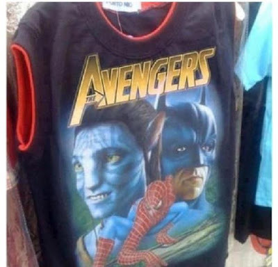 Awesome Avengers T-shirt