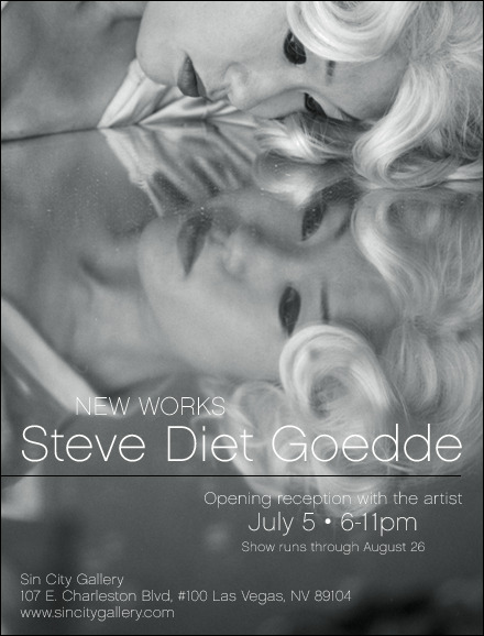 Announcing my upcoming solo show in July at the Sin City Gallery in Las Vegas. JULY 5, 6-11pm | Opening reception with the artist  Show runs JULY 5 - AUGUST 26, 2012 Sin City Gallery @ the Arts Factory107 E. Charleston Ave - Suite 100Las Vegas, NV 89104 www.sincitygallery.com