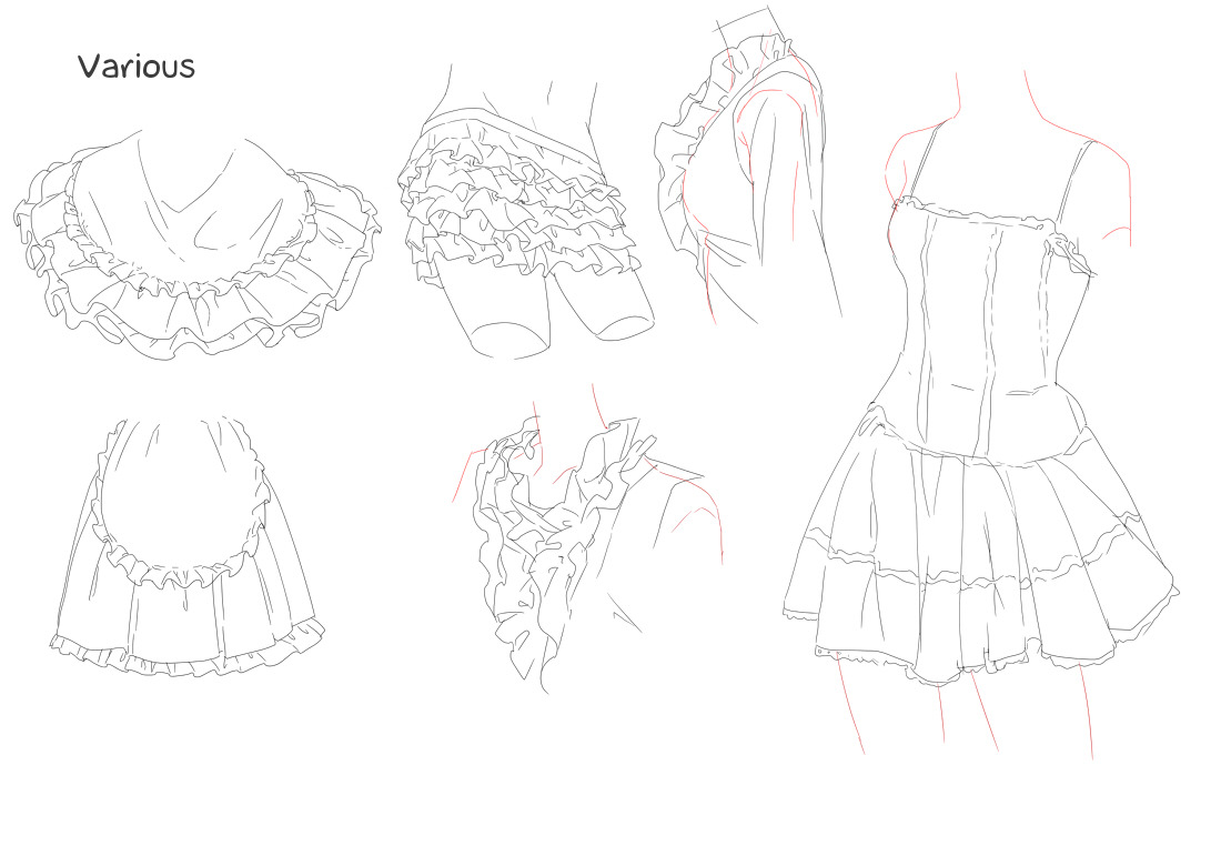 losthitsu:  Frills tutorial - translated version. Also in a separate album for easier download.