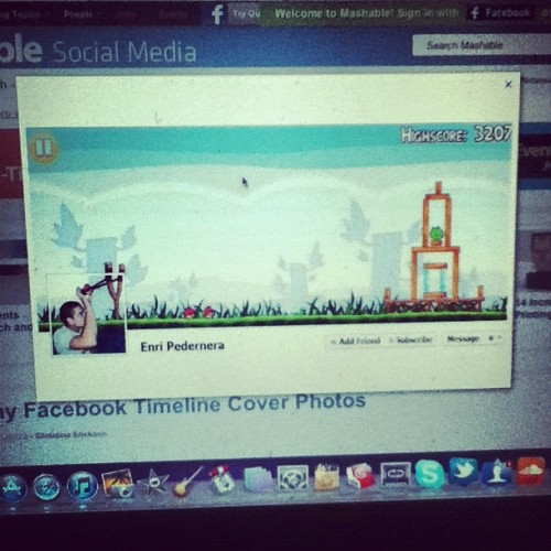 Sick Facebook timeline (Taken with instagram)