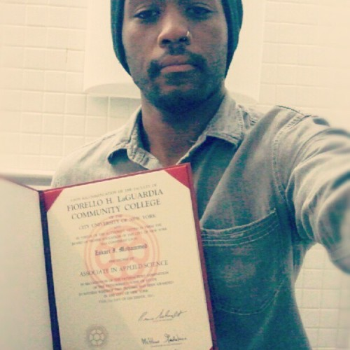 #thingsIcandowithmydiploma : take a shit in a public bathroom (Taken with Instagram at LaGuardia Community College - B Building)