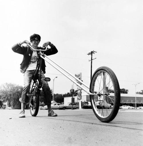 A boy and his bike c. 1969