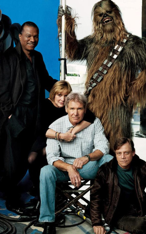 wookieekisses:  Vanity Fair photo shoot