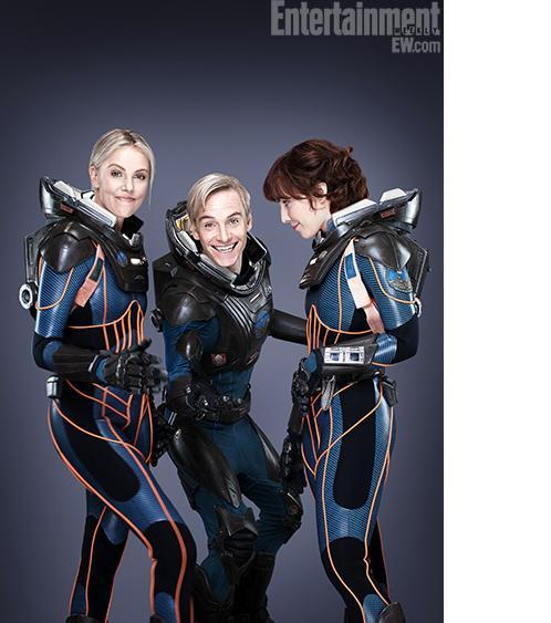entertainmentweekly:  Hey, guys, here are those exclusive Prometheus pics you ordered.