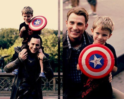 Tom Hiddleston. Chris Evans. Marry me you lovely men!! XD xxx
