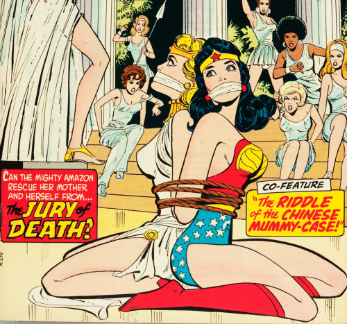 vintagegal:  Wonder Woman #207 (1973)