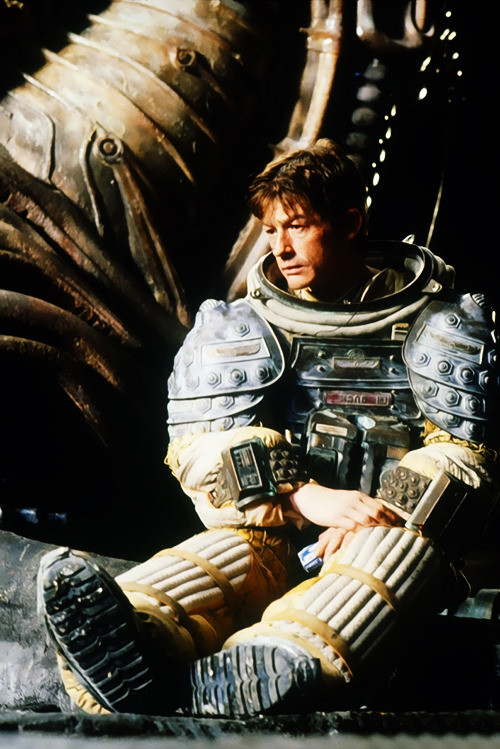 arcaneimages:  John Hurt. On the set of Alien.