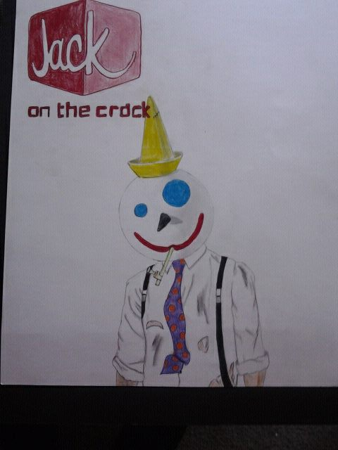 """Jack on the crack"" - My drawing I did for my Color Theory Class"