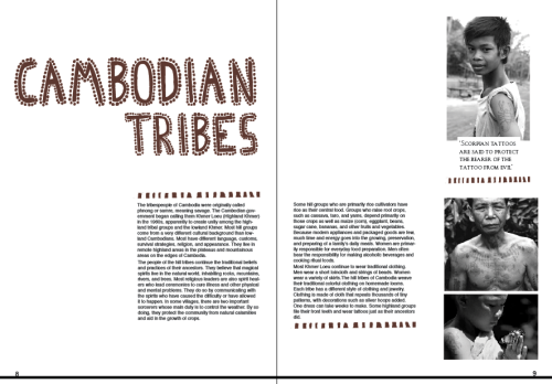 another version of tribe pages