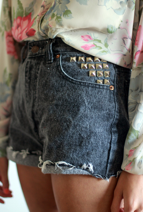 Vintage Levi's Studded Pocket Cut-offs SOLD *Tarte Exclusive!