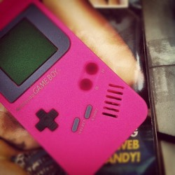 Game boy iPhone case. Copped (Taken with instagram)