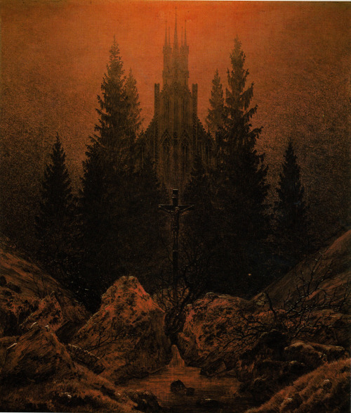 Caspar David Friedrich The Cross In The Mountains  c. 1812