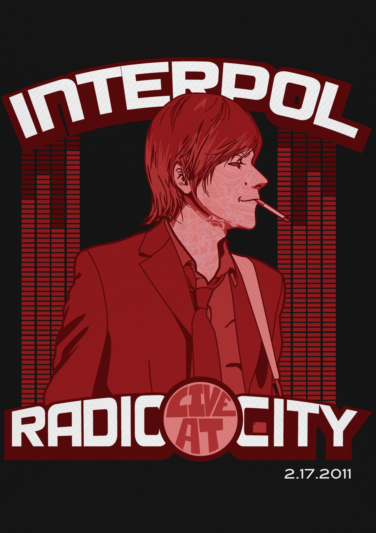 Interpol Radio City Music Hall February 17, 2011