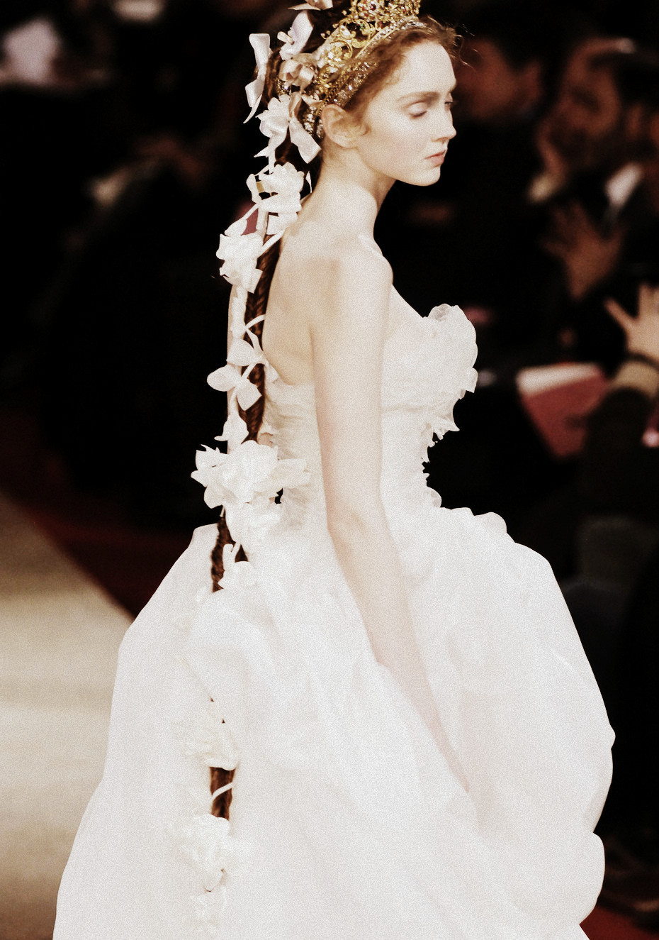 Lily Cole for Christian Lacroix Haute Couture Spring/Summer 2006