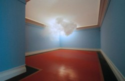 Artist suspends real clouds in the middle of the room That's not photoshop; that's an actual cloud hovering inside an actual room. Artist Berndnaut Smilde merges art and science to create small man-made clouds that exist — albeit for just a moment — indoors. [read more]