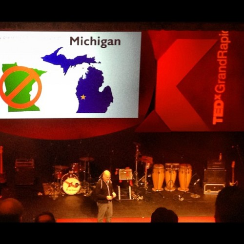 Where I'm at. TEDxGrandRapids. #GRMI #PureMichigan #TEDxGR #TEDx (Taken with Instagram at Grand Rapids Civic Theatre)