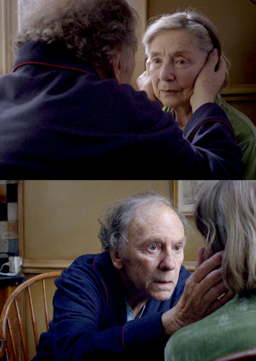 frenchcinema:  (Legends) Emmanuelle Riva and Jean-Louis Trintignant in Amour (Michael Haneke, 2012)  The stars of two of my favorite movies!  I have to see this.