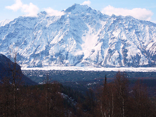 archenland:  Matanuska Glacier (by David Cartier)  I love this picture this is an amazing picture.