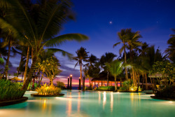 Sunset by the pool at Boracay Shangrila Resort submitted by:iandv23 thanks!