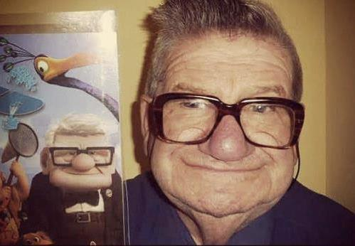 Mr Fredricksen exists!