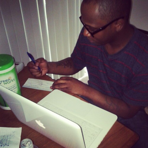 Signing my Mac away! (Taken with instagram)
