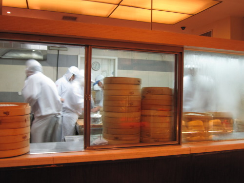 Photo a day May-11: Kitchen This is the kitchen at Din Tai Fung (Beijing). Soup Dumpling Heaven. So happy I got to eat here yesterday. mmmmmmmm.