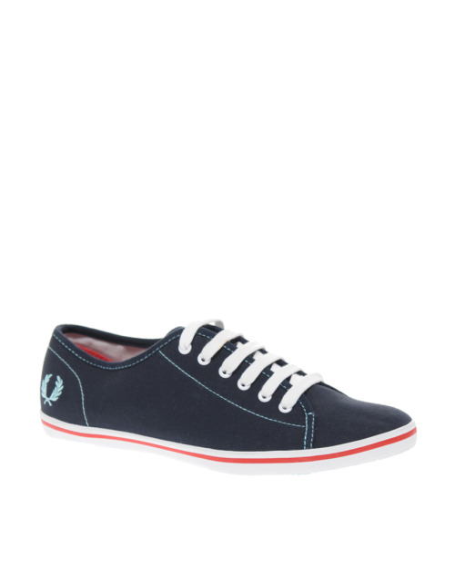 Fred Perry Phoenix Canvas PlimsollsMore photos & another fashion brands: bit.ly/JhbhGP