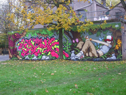 Awesome Urban Art by Lawnboy1975 on Flickr.