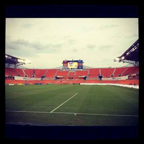 #Dynamo stadium. Ready for the game.  (Taken with instagram)